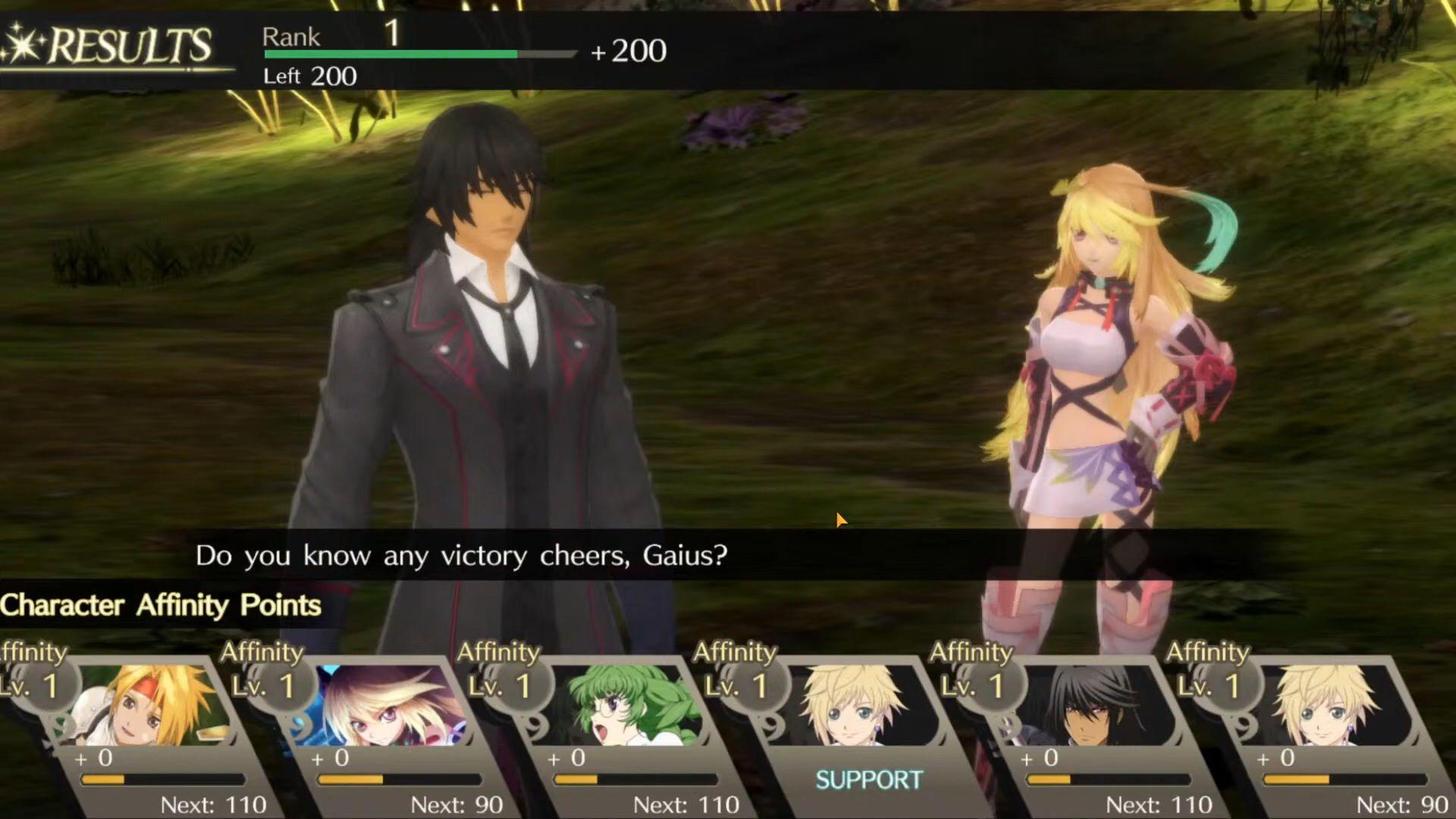 TALES OF CRESTORIA capture d'écran 1