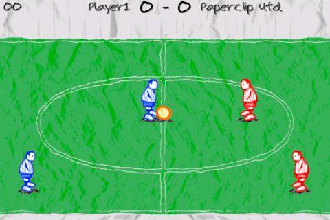 Arcade: Lade Doodle Fußball auf dein Handy herunter
