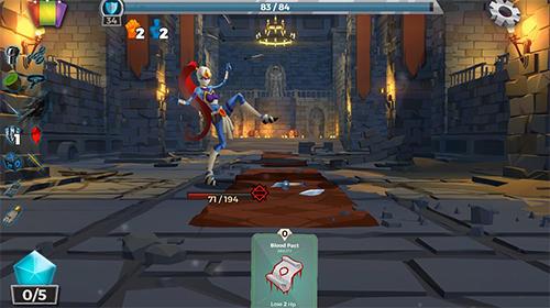 Online Dungeon tales : An RPG deck building card game für das Smartphone