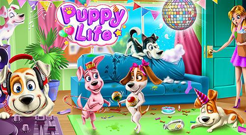 Puppy life: Secret pet party Screenshot