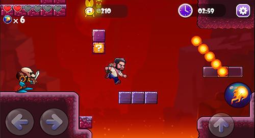 Jumping boy world Screenshot