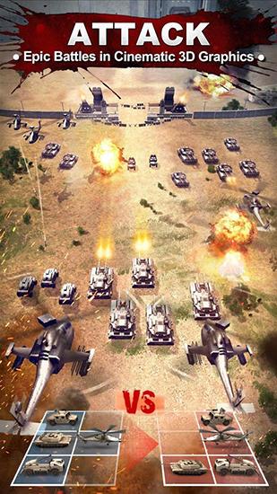Online Strategiespiele War zone: World of rivals auf Deutsch