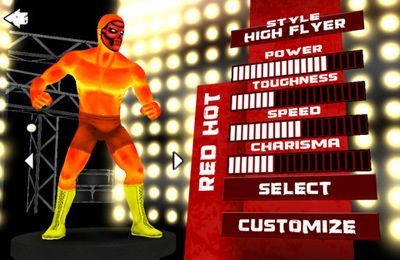 Multiplayer games: download TNA Wrestling iMPACT to your phone