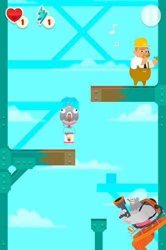 Arcade games: download Stupid pigeon 3: Splash to your phone