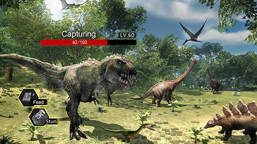 Jogos de tiro Fallen world: Jurassic survivor em portugues