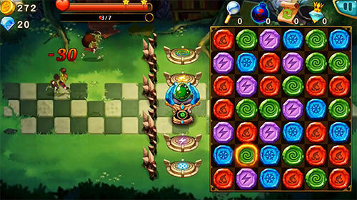 Gem blitz: Match 3 RPG para Android