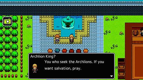 Archlion saga: Pocket-sized RPG für Android