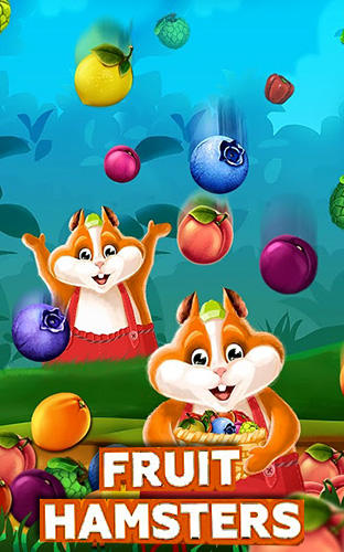Fruit hamsters: Farm of hamsters. Match 3 game Screenshot