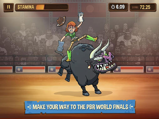 PBR: Raging bulls para Android