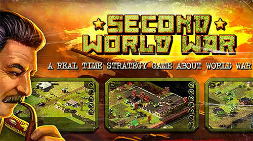 Second world war: Real time strategy game! captura de pantalla 1