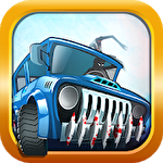 Stickman racer: Survival zombie icône