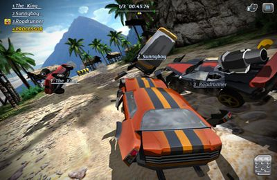 Screenshot Motorblast auf dem iPhone
