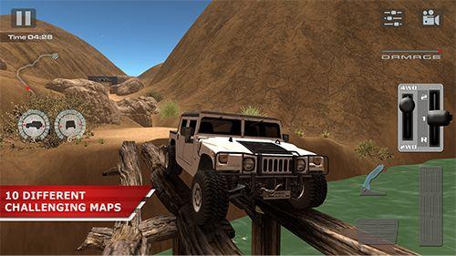 Condução Offroad: Deserto para iPhone