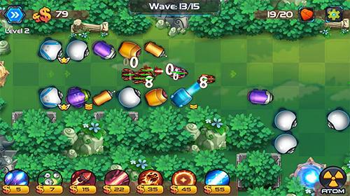 Tower defense: Battle zone für Android