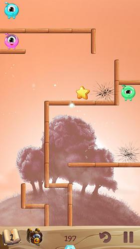 Screenshot Lumens Welt auf dem iPhone
