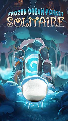 Solitaire: Frozen dream forest скриншот 1