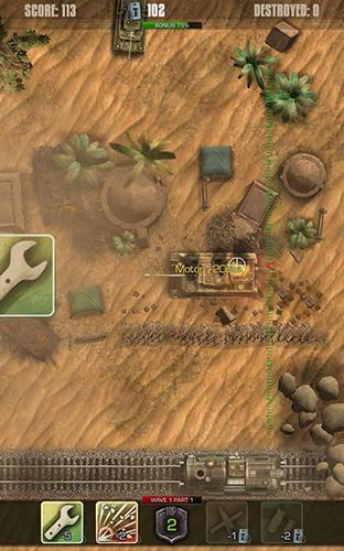 Tigers: Waves of tanks Screenshot