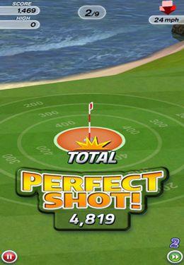 Screenshot Golf auf dem iPhone