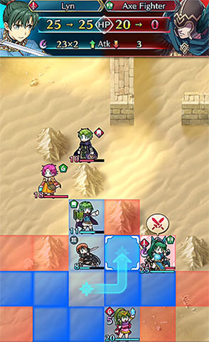 RPG Fire emblem heroes for smartphone