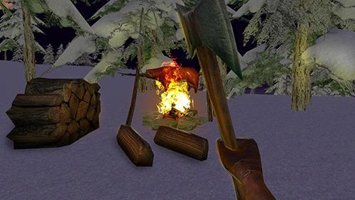 Juegos de acción Vikings survival simulator 3D para teléfono inteligente