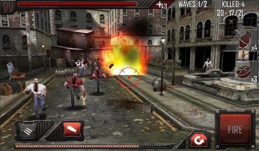 Zombie Shooter Zombie roadkill 3D auf Deutsch