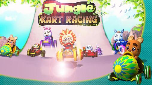 Jungle: Kart racing icône