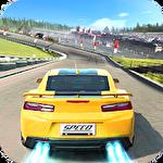 Crazy racing car 3D icono