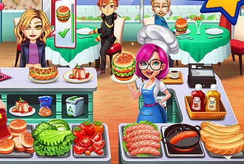 Arcade Cooking star chef: Order up! für das Smartphone