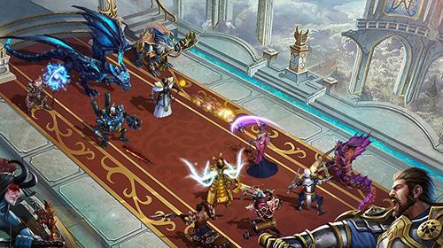Strategie RPG Trials of heroes auf Deutsch