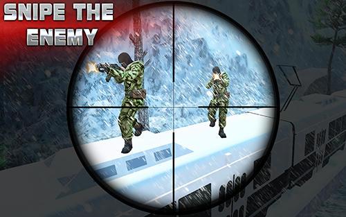 Sniper Sniper train war game 2017 auf Deutsch