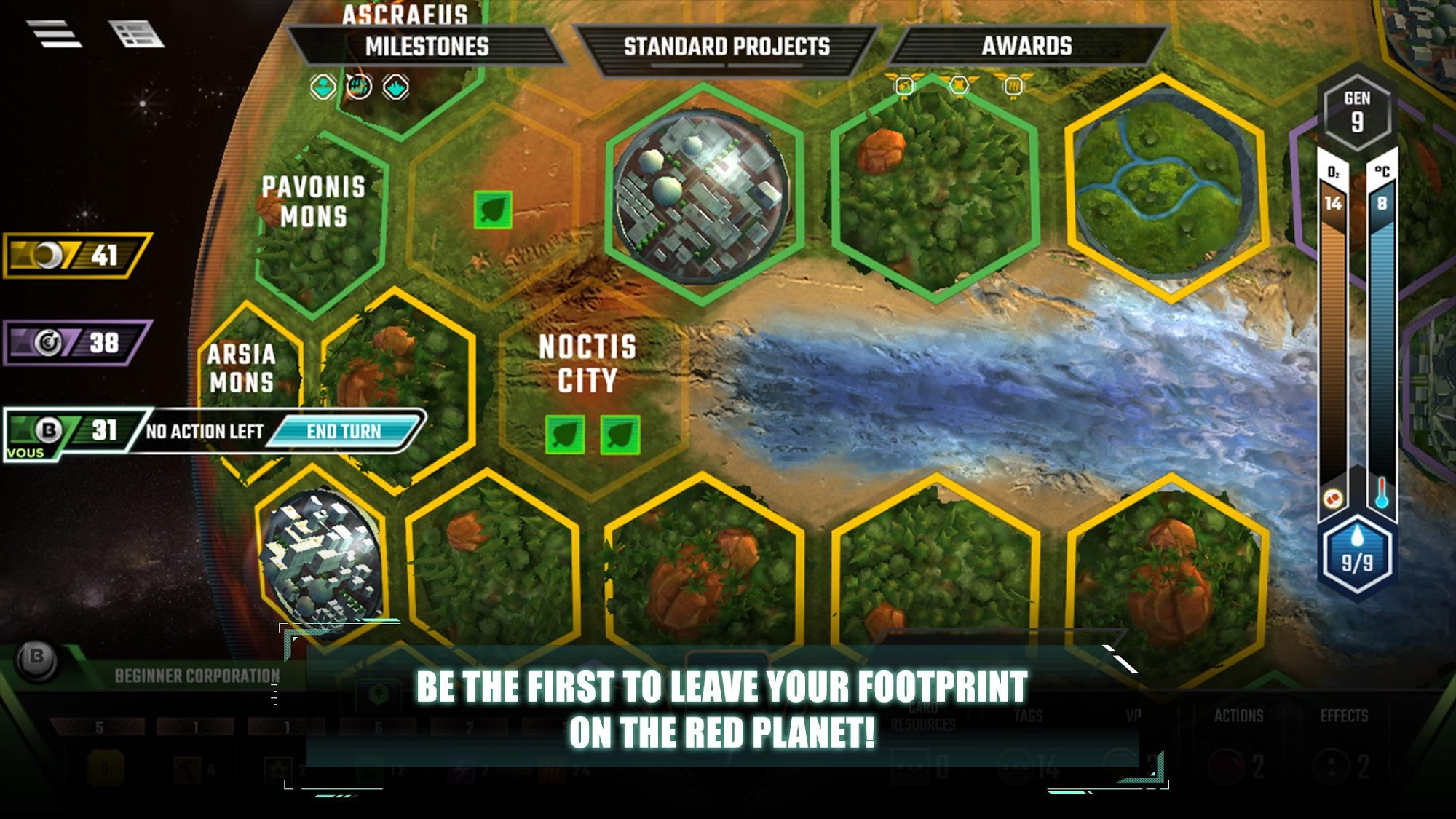 Terraforming Mars screenshot 1