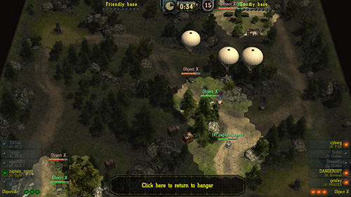 Find and destroy: Tank strategy screenshots