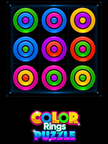 Color rings puzzle скріншот 1