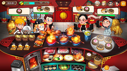 Cooking adventure for Android