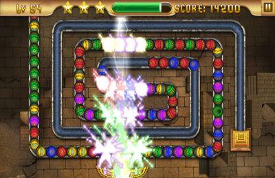 iPhone用ゲーム エジプトズマ- アヌビスの宝 のスクリーンショット