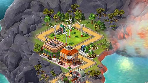 Wirtschafts-Strategie City island 5: Offline tycoon building sim game auf Deutsch