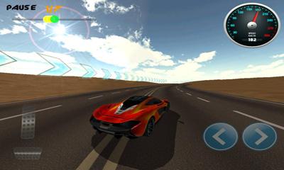 Screenshot Brennende Räder 3D Rennen auf dem iPhone