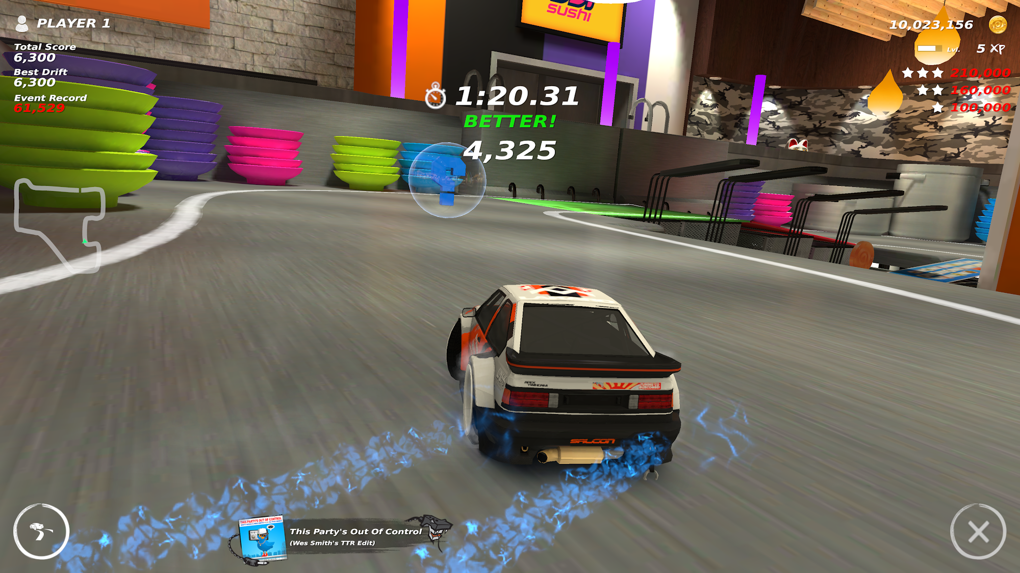 Table Top Racing: World Tour - Nitro Edition captura de pantalla 1