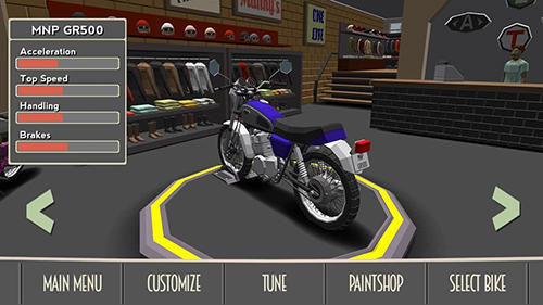 Racing games Cafe racer for smartphone