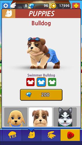 Paw runner: Puppy captura de pantalla 1