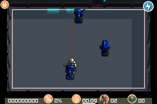 Screenshot Roboter Pack auf dem iPhone