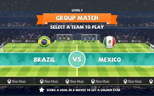 Juegos de lógica Find a way: Soccer para teléfono inteligente