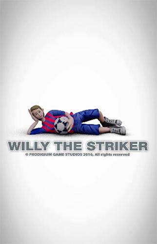 Willy the striker: Soccer Symbol