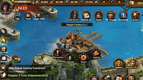 Onlinespiele Legend of vikings für das Smartphone