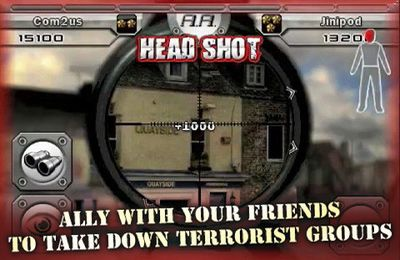 Scharfschütze gegen Scharfschütze: Online für iPhone