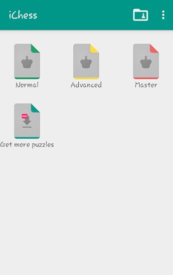 Logikspiele iChess: Chess puzzles für das Smartphone