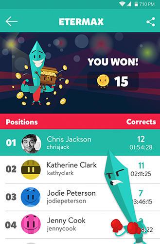 Screenshot Trivia Crack auf dem iPhone