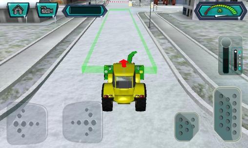 Snow blower: Truck sim 3D for Android