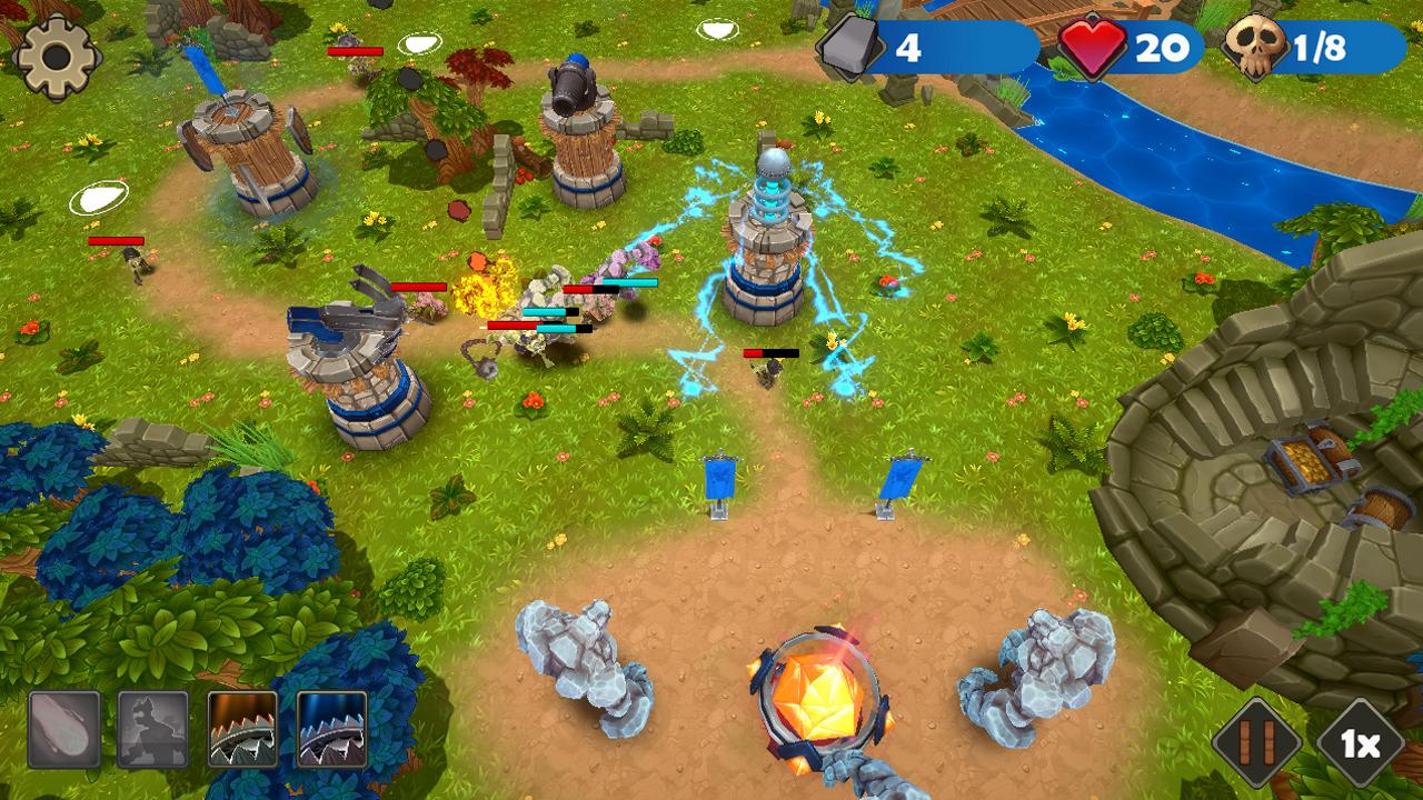 The Defender's Oath - Tower Defense Game screenshot 1