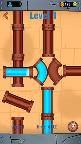 Pipe line connect: Water plumber puzzle game für Android